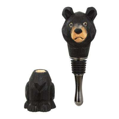 Wood Fauna Stopper in Bear