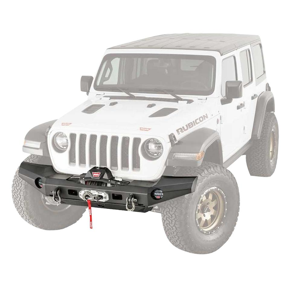 Warn Elite Series Full-Width Front Bumper for Jeep JL Wrangler