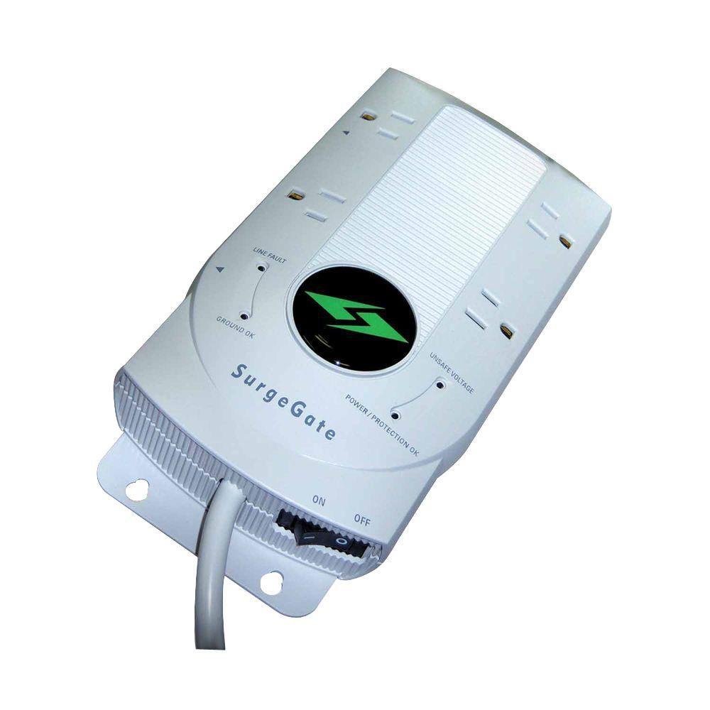 SurgeGate 4 Outlet AC Surge Protector