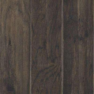 Take Home Sample - Hillsborough Hickory Shadow Engineered Hardwood Flooring - 5 in. x 7 in.