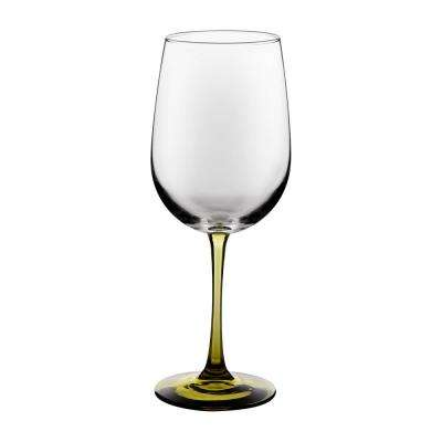 Vina 18.5 fl. oz. Olive Stemmed Wine Glass (6-Pack)
