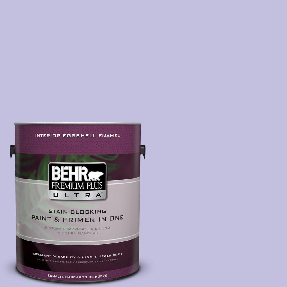 BEHR Premium Plus Ultra 1 gal. #630A-3 Weeping Wisteria Eggshell Enamel Interior Paint and Primer in One