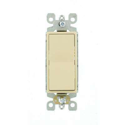 Decora 15 Amp 3-Way Switch, Ivory
