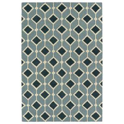 Spaces Blue 2 ft. x 3 ft. Area Rug