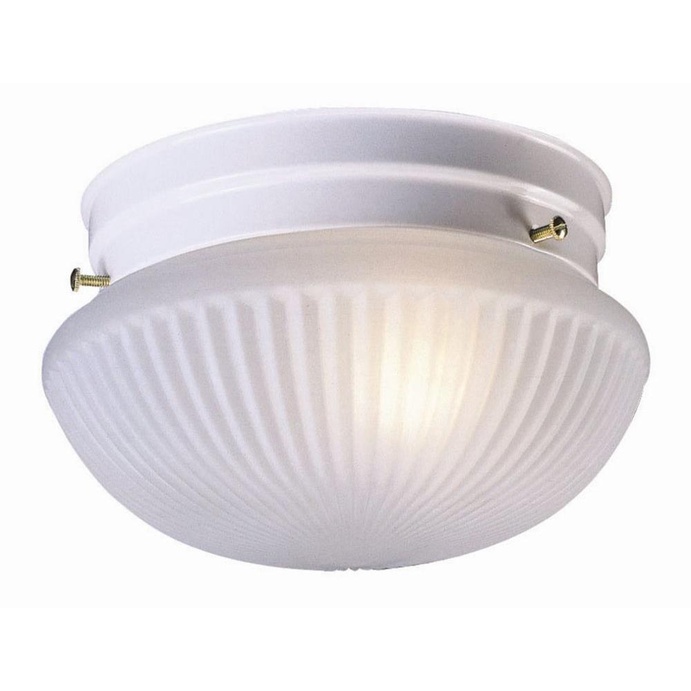 Design House Millbridge 2-Light White Ceiling Light