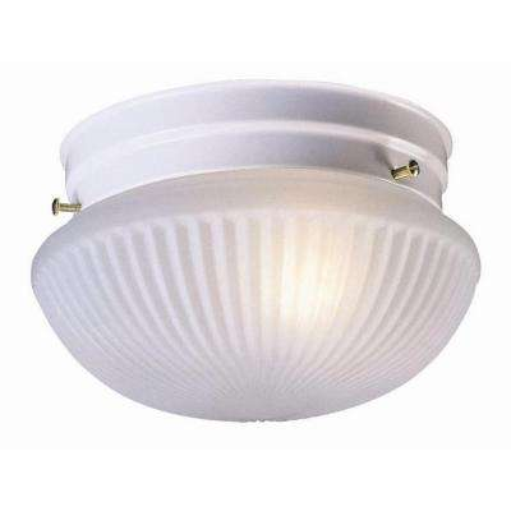 Millbridge 2-Light White Ceiling Light