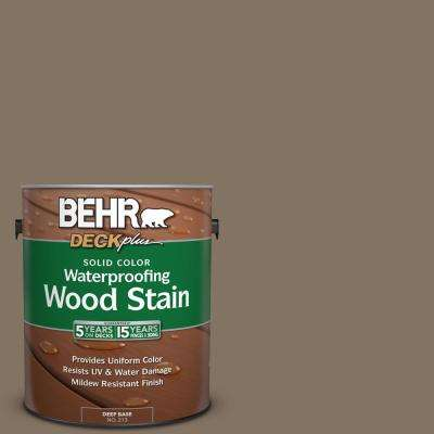 1 gal. #SC-159 Boot Hill Grey Solid Color Waterproofing Wood Stain