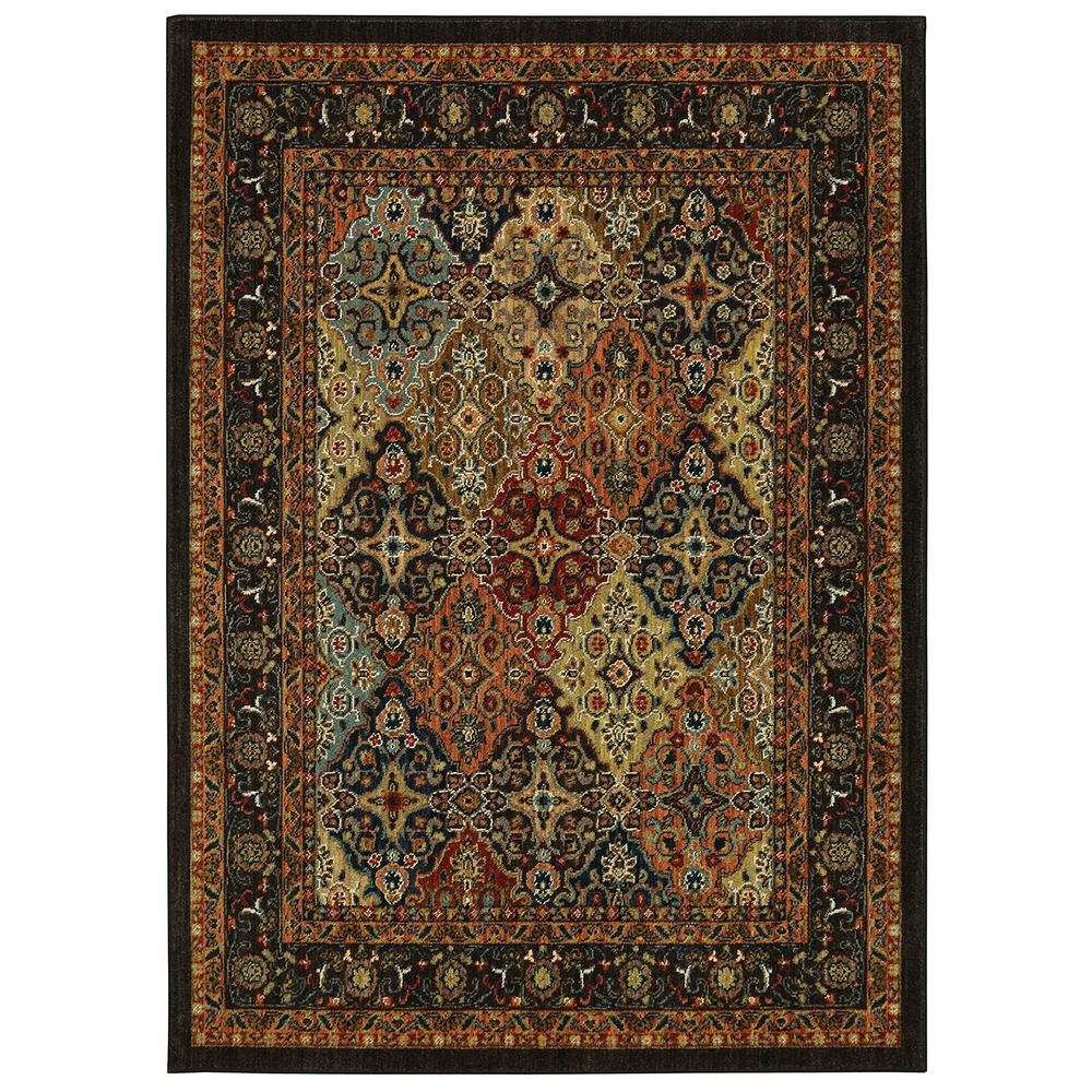 Petproof Karastan Studio Wander Keil Multi 8 Ft X 11 Indoor Area Rug 000682 The Home Depot