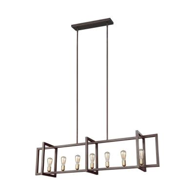Finnegan 7-Light New World Bronze Chandelier