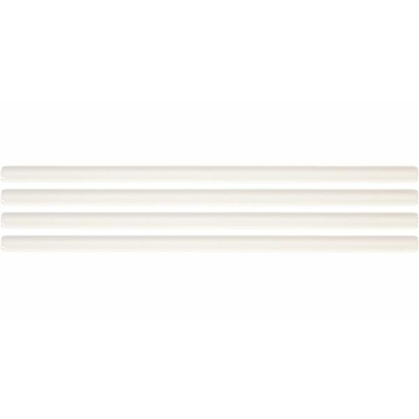 Restore Bright White 1/2 in. x 12 in. Glazed Ceramic Wall Jolly Trim Tile (0.04 sq. ft./ piece)