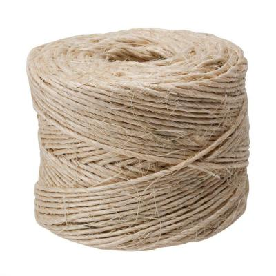 #21 x 300 ft. Twisted Sisal Rope Twine, Natural