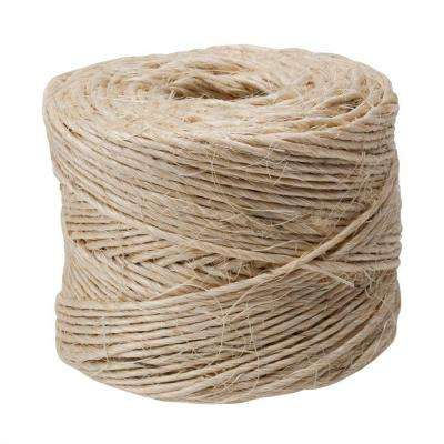 #21 x 300 ft. Natural Twisted Sisal Twine