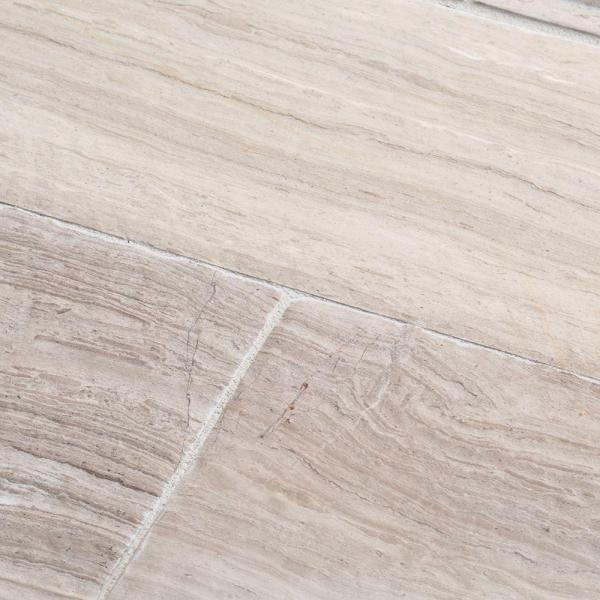 Stone Grey 4 in. x 12 in. Honed Limestone Wall Tile (1 sq. ft. / pack)