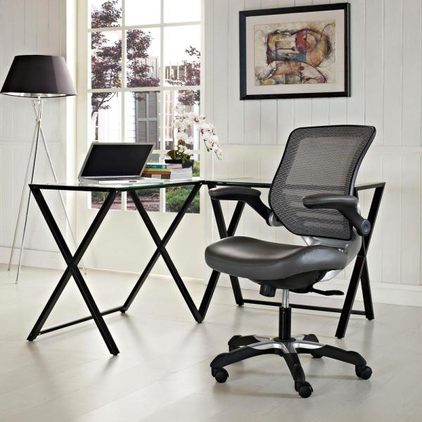 MODWAY Edge Mesh Office Chair in Gray
