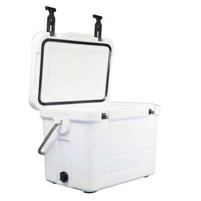 25 Qt. Cooler Cruiser in White