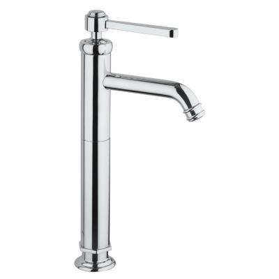 Firenze Single Hole Single-Handle Vessel Bathroom Faucet in Chrome