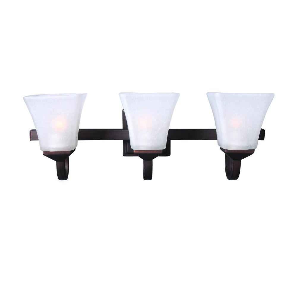 Design House Torino 3-Light Brushed Bronze Indoor Vanity Light ...