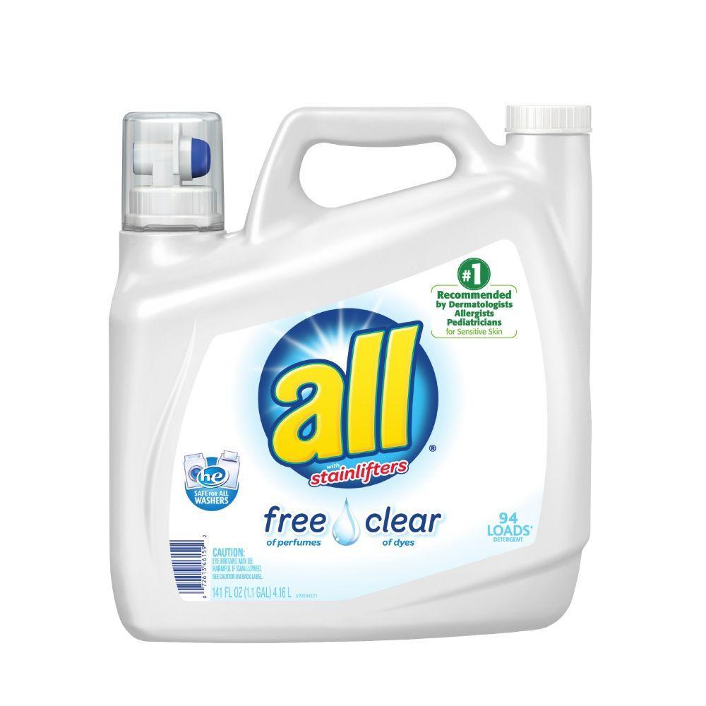 141 oz. Free Clear Liquid Laundry Detergent