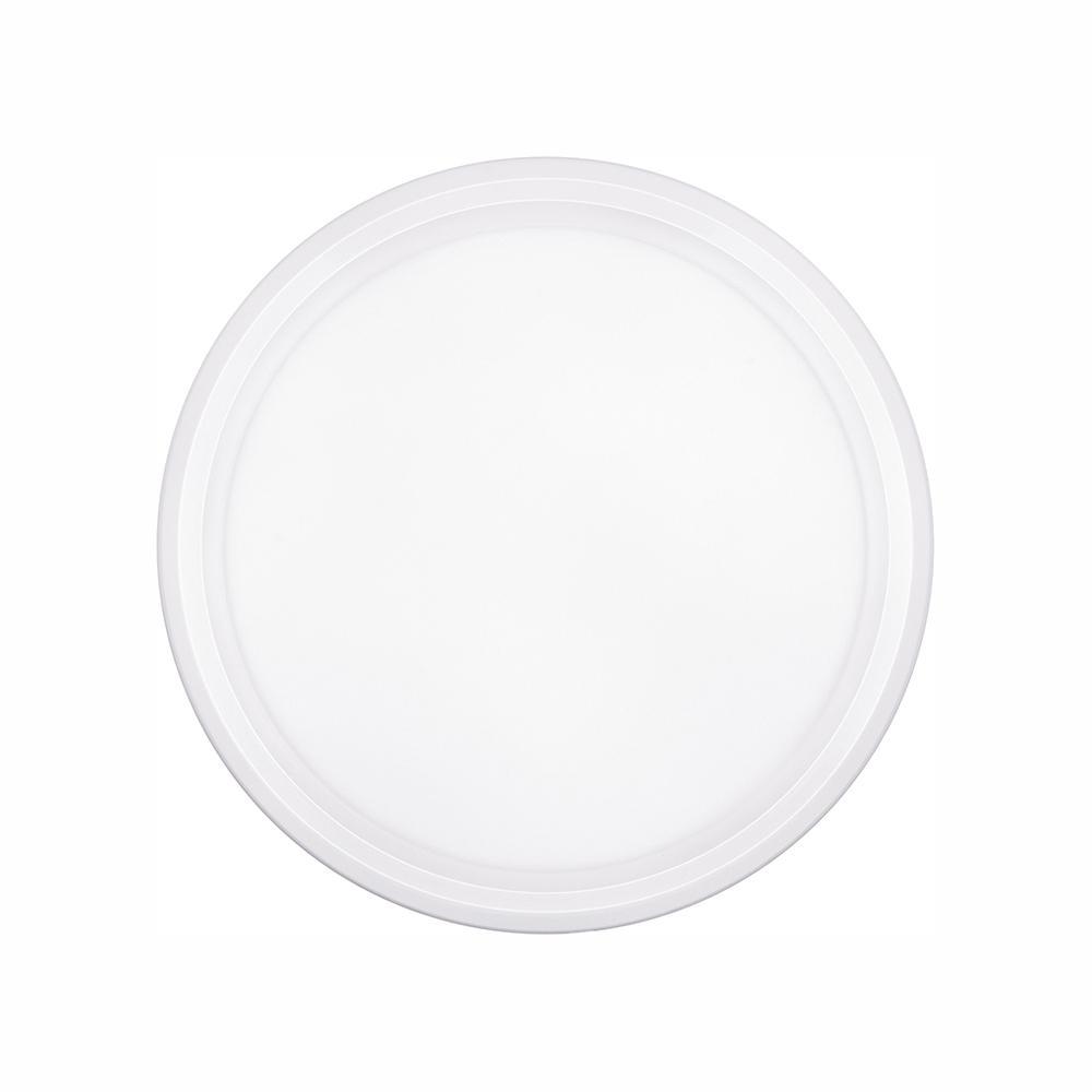 Jinko Led 5w Integrated Ceiling Lamp Bedroom Kitchen: Euri Lighting 11.5-Watt White Integrated LED Ceiling Flush
