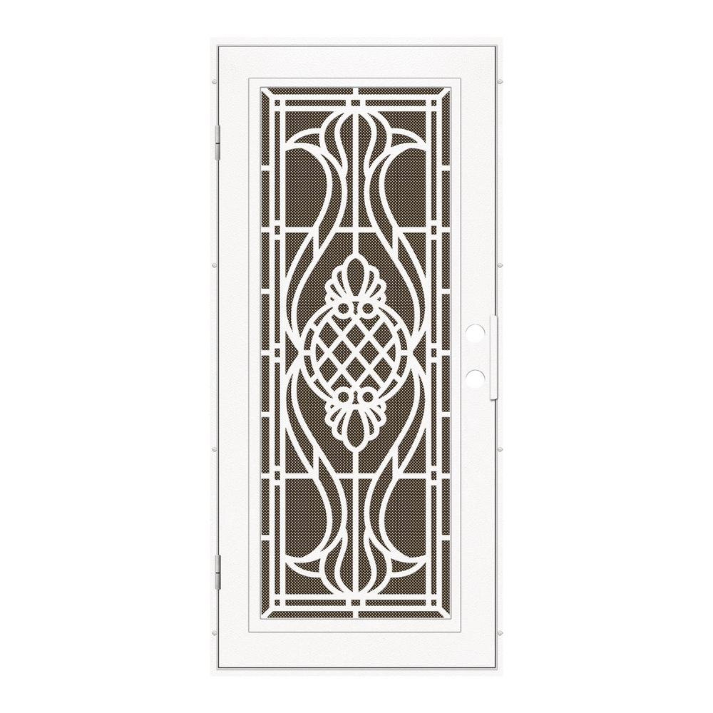Unique Home Designs 36 In X 80 Manchester White Left Hand Surface