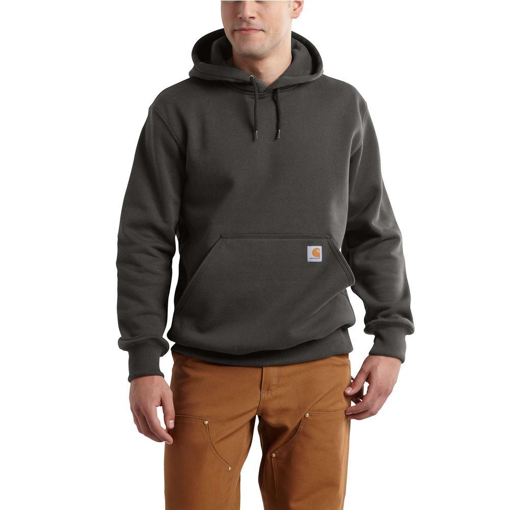 Men's Tall 3X Large Peat Cotton/Polyester Rain Defender Paxton Hooded Heavyweight Sweatshirt