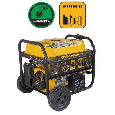 7125/5700-Watt Gas Powered Remote Start Portable Generator