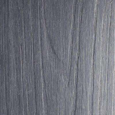 UltraShield Naturale Magellan Series 1 in. x 6 in. x 16 ft. Westminster Gray Groove Solid Composite Decking Board