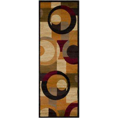 Anatoli Burnt Orange 3 ft. x 8 ft. Runner Rug