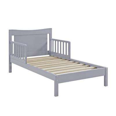 Baby Relax Merlyn Toddler Gray Bed