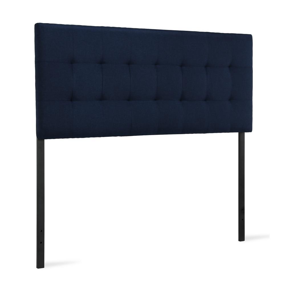 Breu Blue Full/Queen Upholstered Headboard