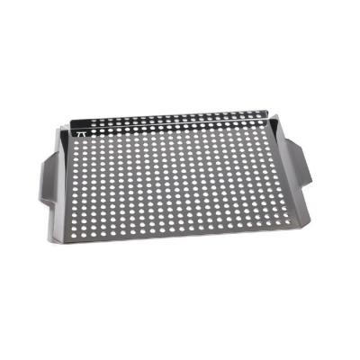 17 in. x 11 in. Stainless Steel Grill Grid with Handles