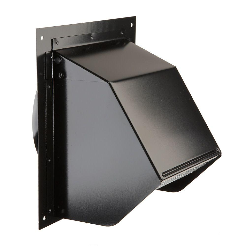 Wall Vent Cover Exterior Cap 6 Inch Duct Vent Exhaust Fan ...