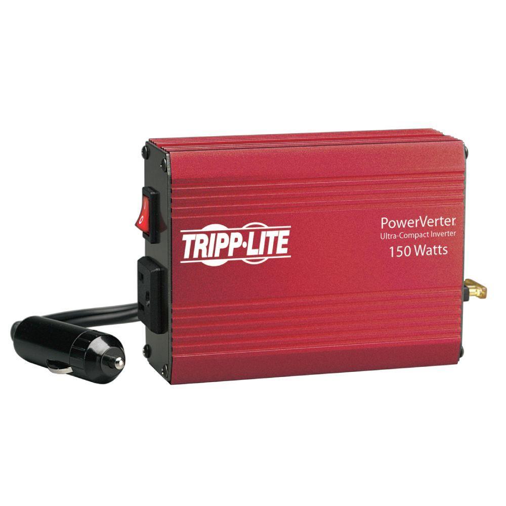 Tripp Lite 12 Volt Portable Auto Inverter DC to AC 120 Volt 5-15R 1 Outlet
