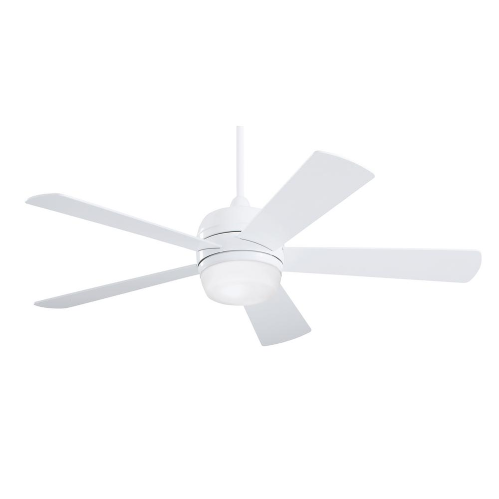 Atomical 52 in. Indoor / Outdoor Appliance White Ceiling Fan