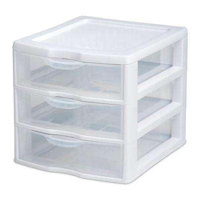 1-lb. 3-Drawer Clearview Unit