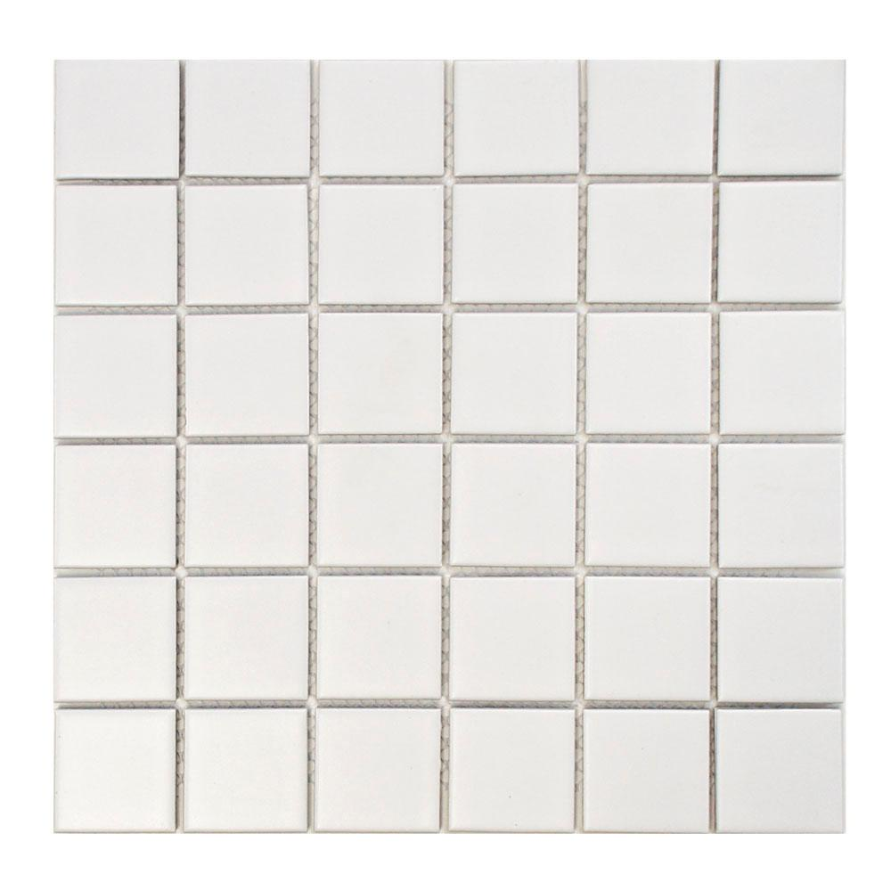 Merola Tile Metro Quad Matte White 12 1 4 In X