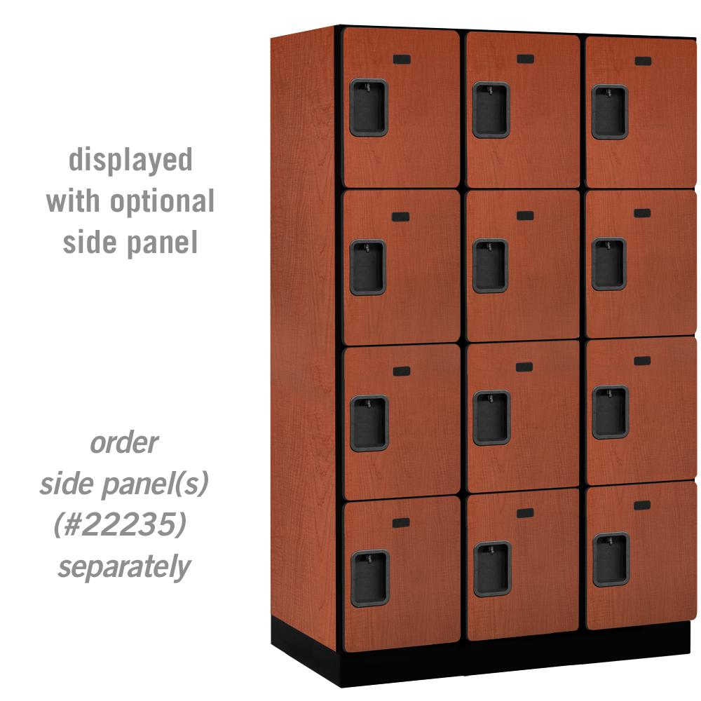 24000 Series 4 Tier 21 in. D 12 Compartments Extra Wide