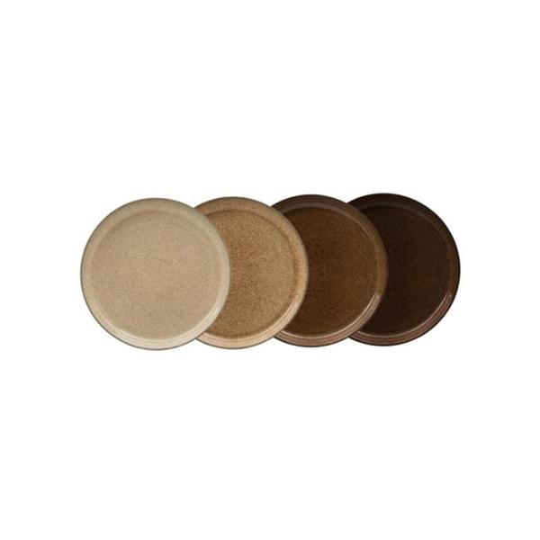 Denby Studio Craft Brown Coupe Dinner Plate (Set of 4) CRFT-003B/4