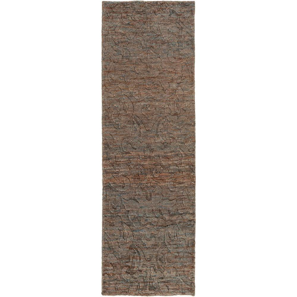 Carmelo Charcoal 3 ft. x 8 ft. Indoor Runner Rug