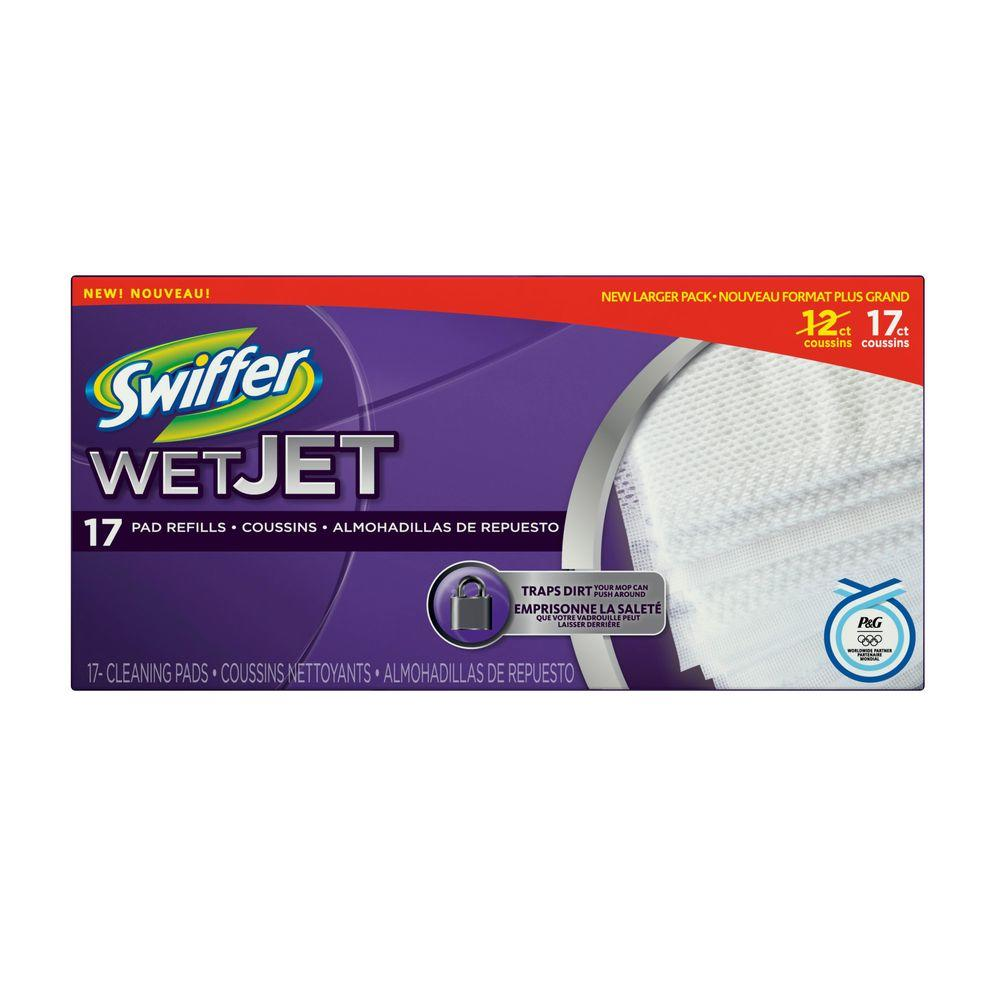 Swiffer Wetjet Original Cleaning Pad Refills 17 Count