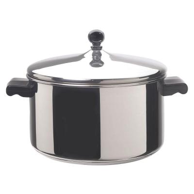 Classic Series 6 qt. Stainless Steel Stock Pot with Lid