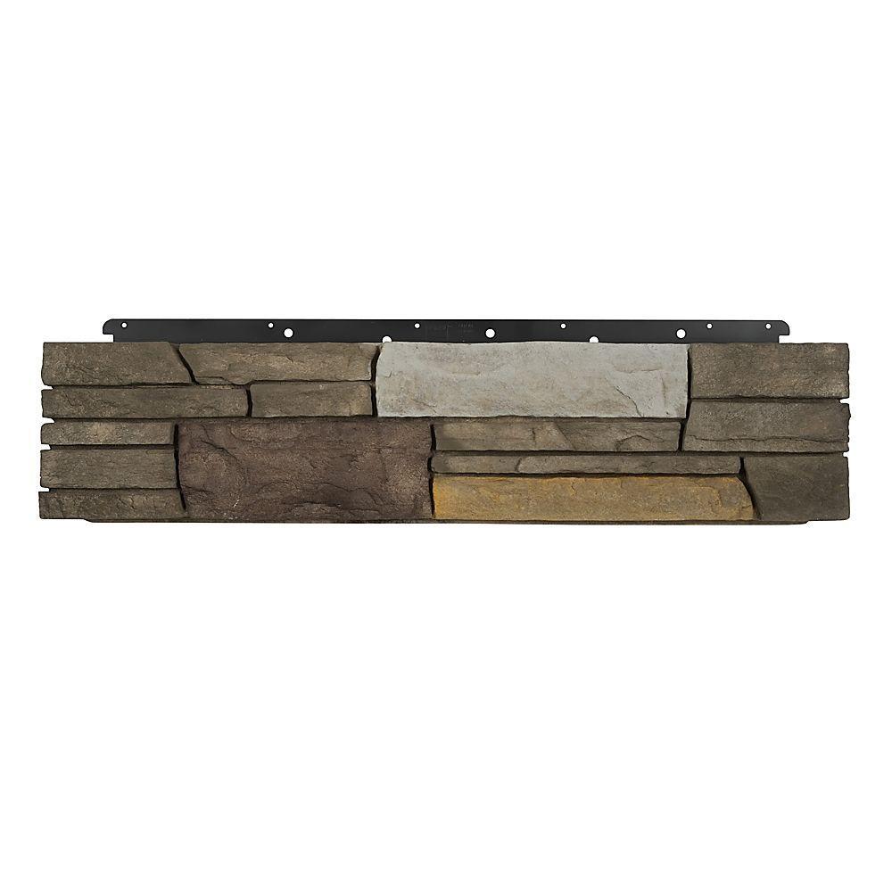 Boral 8 in. x 36 in. Versetta Stone Corner Ledgestone Sterling Siding (6-Bundles), Multi-Colored -  4210583