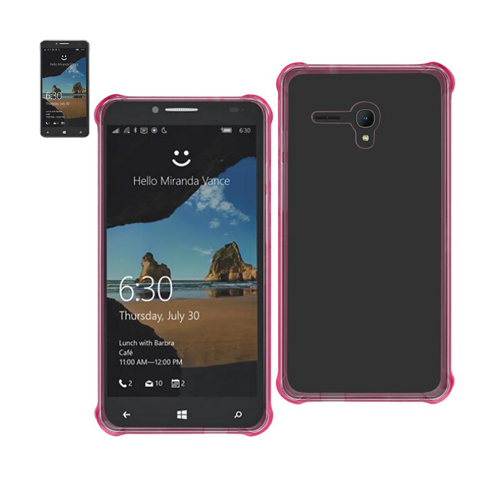 Alcatel One Touch Fierce Xl Air Cushion Case in Clear Pink