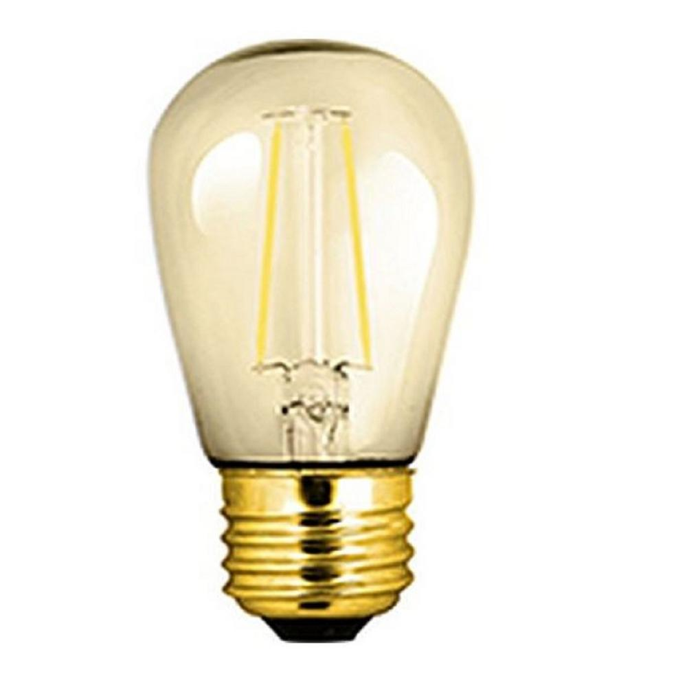 25W Equivalent Soft White S14 Dimmable LED Light Bulb