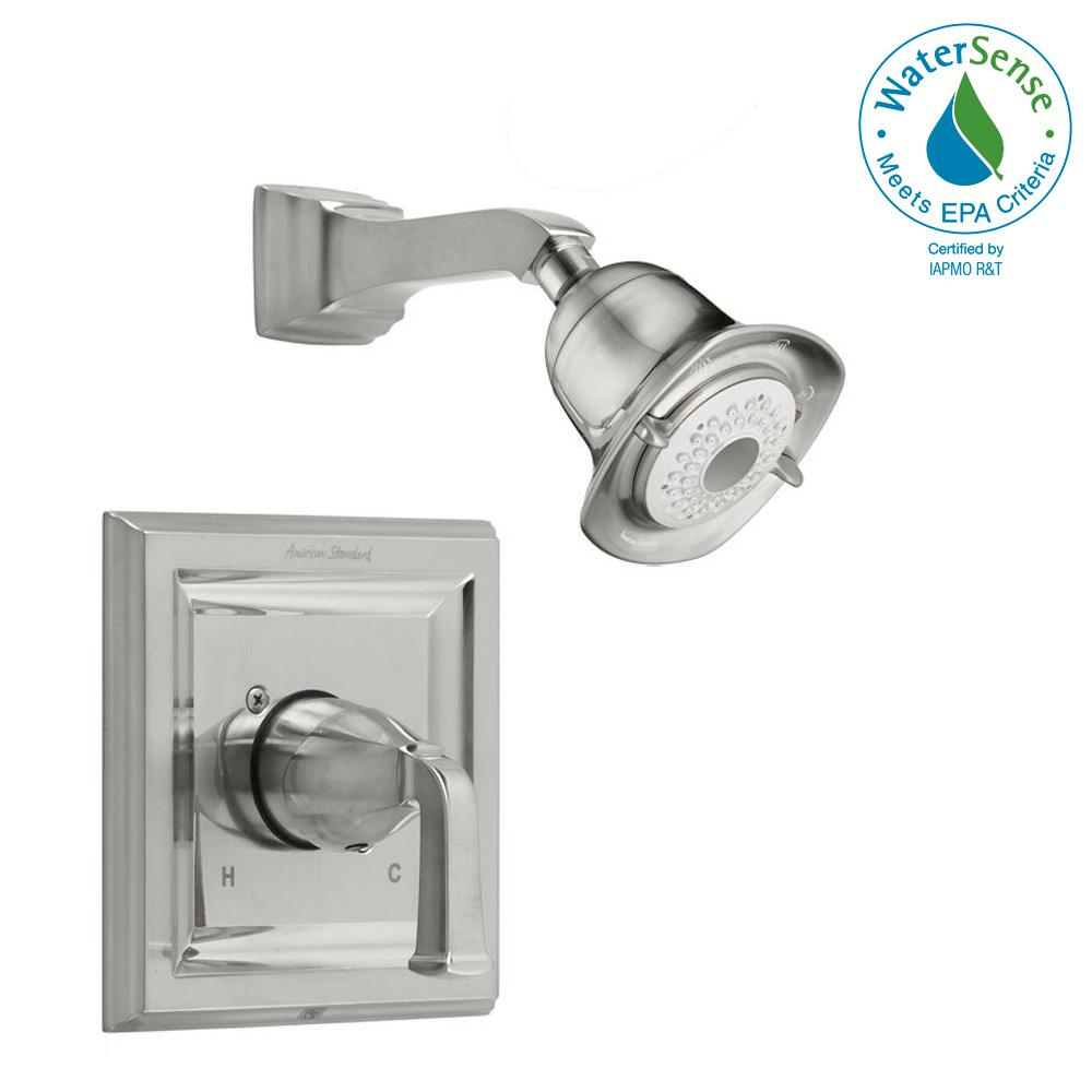 Town Square 1-Handle Shower Faucet Trim Kit in Brushed Nickel (Valve