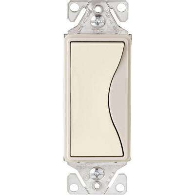 Aspire 15 Amp Side Wire/Push Wire 3-Way Switch, Desert Sand