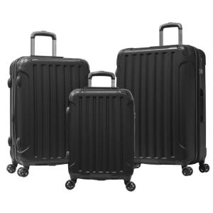 Olympia U.S.A Whistler II 3-Piece PC ABS EXP Hardcase Spinner Set with TSA Lock and Hidden Compartment by Olympia U.S.A