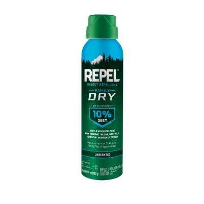 4 oz. Aerosol Dry Insect Repellent