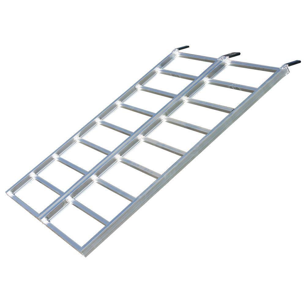 Aluminum Atv Ramps >> Yutrax Bi Fold Aluminum Atv Ramp