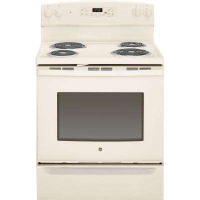 5.0 cu. ft. Electric Range with Self-Cleaning Oven in Bisque